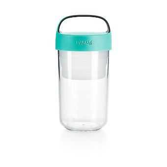 Lekue jar to go, turquesa 600ml