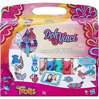 Play-Doh DohVinci Trolls - Pysselkit