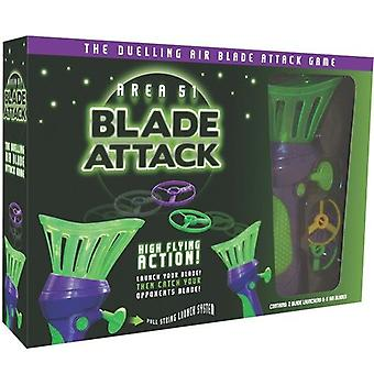 Area 51 Blade Attack - Duelling Air Blade Attack Game