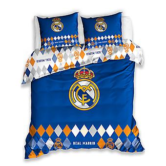Real Madrid CF Diamond Double Duvet Cover - European Size