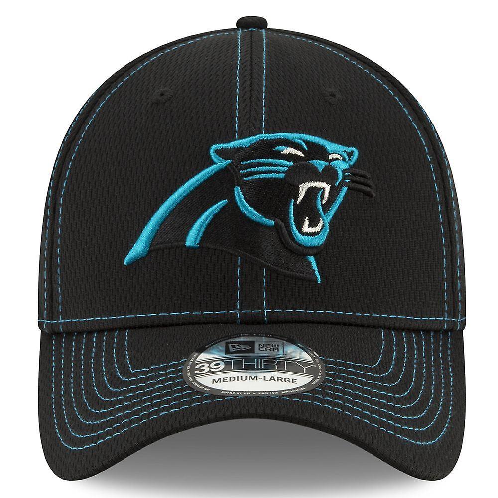New Era NFL Onfield Sl Rd 39Thirty Cap ~ Carolina Panthers