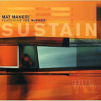 Mat Maneri Quartet - Sustain [CD] USA import