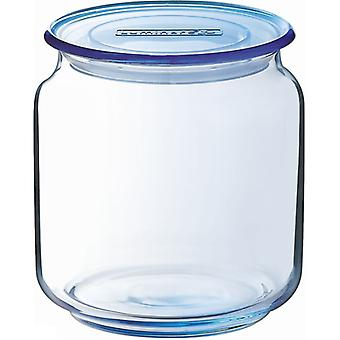 Luminarc Ice Blue Rondo 0.5L Jar (Kitchen , Kitchen Organization , Pots)
