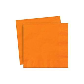 Orange servetter