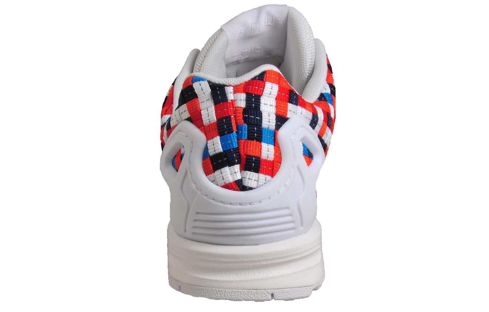 Adidas Originals ZX FluxWhite / Blue / Red
