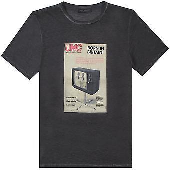 Neil Barrett 'UMC' Grafik Druck T-Shirt