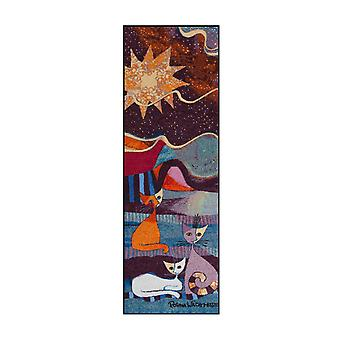 Rosina Wachtmeister doormat lifestyle Le onde 60 x 180 cm SLD0898-060 x 180