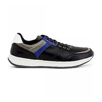 Duca di Morrone - Schuhe - Sneakers - HARVIE_BLACK - Herren - black,blue - 45
