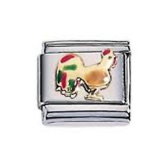 ZOPPINI S.Steel Rooster Charm