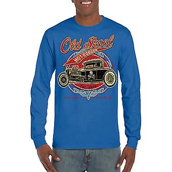 Unisex Old School Hot-Rodder Long Sleeve Shirt