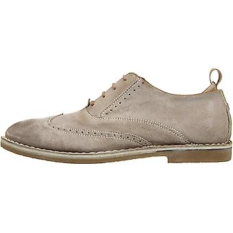 Steve Madden Mens Stark Leather Lace Up Casual Oxfords