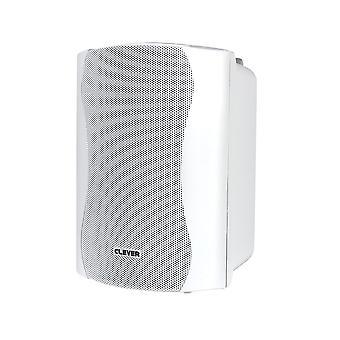Clever Acoustics Bgs85t 100v White Speakers (pair)