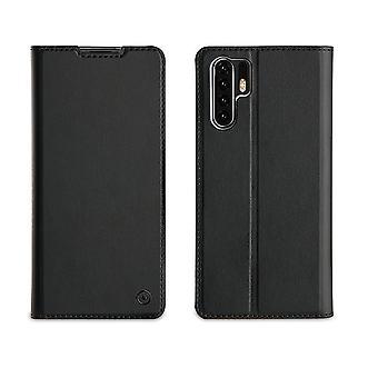 Huawei P30 Pro Folio Black Case - Muvit