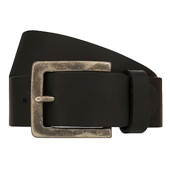 Teal Belt Men's Belt Leather Belt Denim Belt Black 8411