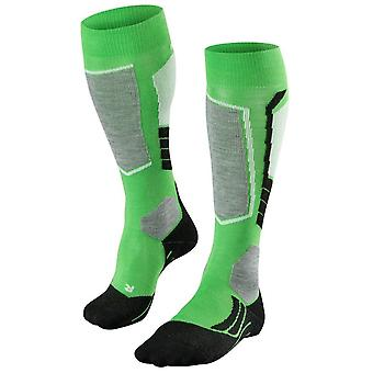 Falke skiløb 2 Knæhøje sokker-levende grøn