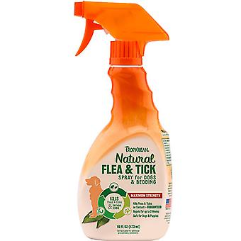 Tropiclean Natural Flea & Tick Spray For Dogs & Bedding
