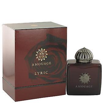 Amouage lyric eau de parfum spray by amouage   518485 100 ml