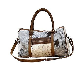 Simply Wholesale Moo Dufel Bag