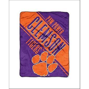 Clemson Tigers NCAA Northwest Plush Throw