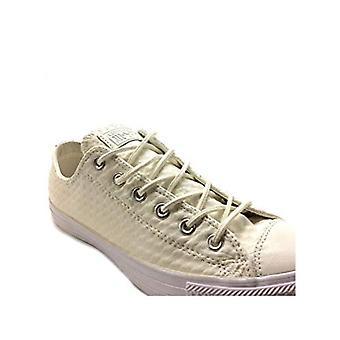 كونفيرس تشاك تايلور أوكس الجلود الجلدية عارضة الرجال & ق الأحذية حجم 7 أبيض