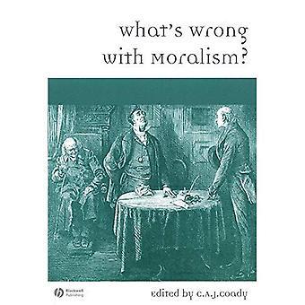 Was ist los mit Moralismus?