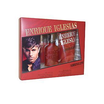 Enrique Iglesias Adrenaline Eau de Toilette Spray 30ml & Shower Gel 200ml