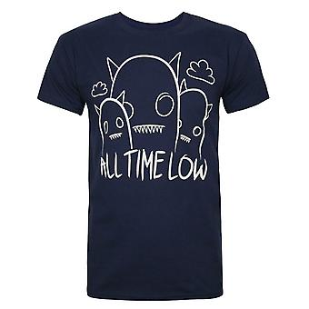 T-shirt All Time Low Ghosts Men-apos;s