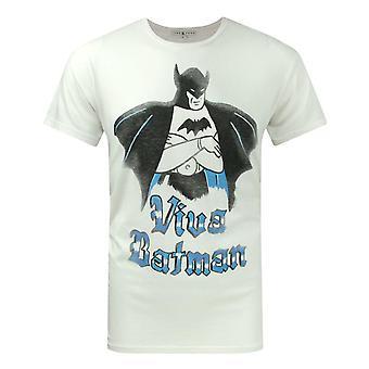 Junk Food Viva Batman Men's T-Shirt