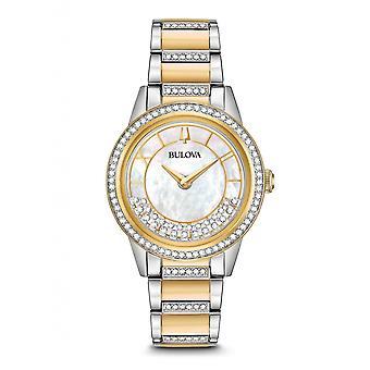 ブローバ 98L245 女性's クリスタル ターンスタイル 腕時計