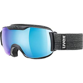 Uvex Masque de ski Downhill 2000 S FM Navy Mat Blue Clear Mirror