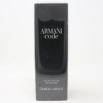 Armani Code door Giorgio Armani Eau De Toilette Pour Homme 2.5oz Spray Nieuwe WithBox