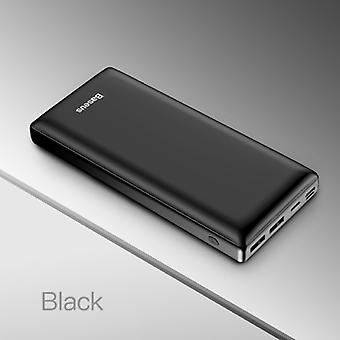Baseus 30.000mAh External Power Bank Battery Charger Emergency Charger Black