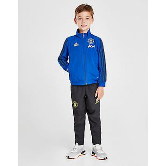 Nowy adidas Kids' Manchester United FC Tracksuit Blue