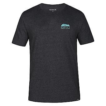 Hurley Men-apos;s Heather T-Shirt - Siro Daybreak bruyère grise