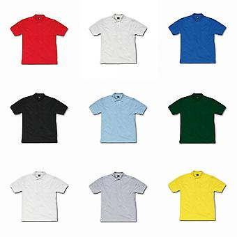 SG Mens Ring-Spun Cotton Short Sleeve Polo Shirt