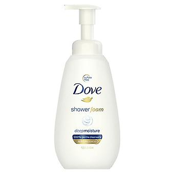Dove shower foam deep moisture, 13.5 oz