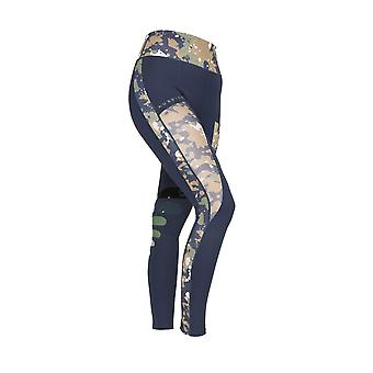 Shires Aubrion Kingsbury Womens Riding Tights - Navy Blue