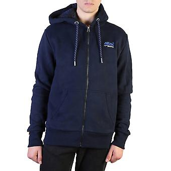 Superdry Original Men Fall/Winter Sweatshirt - Blue Color 37619