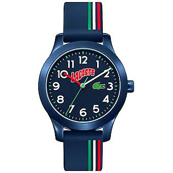 Lacoste 12.12 Kids | Blue Silicone Strap | Blue Dial 2030028 Watch