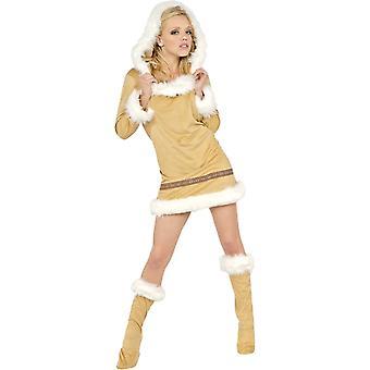 Sexy Eskimo Kostuum voor vrouwen