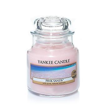 Vela Yankee Classic Médio Jar Pink Sands Candle 411g