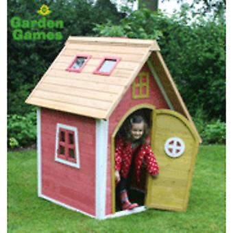 Gry ogrodowe: Crooked Cottage Play House