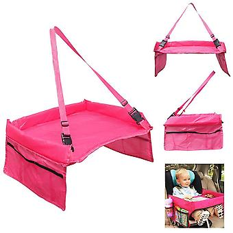 Playtable for car seat Pink