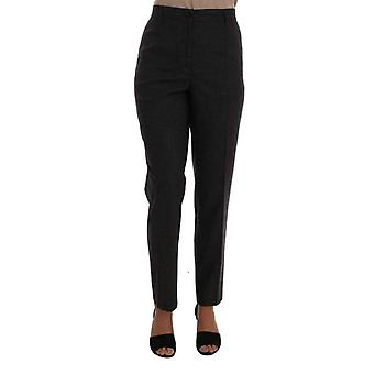 Dolce & Gabbana cinza Viscose lã tecida calças..--BYX1027632