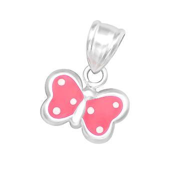 Butterfly - 925 Sterling Silver Pendants - W19006x