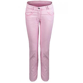 Bianca  Pink Straight Leg Jeans