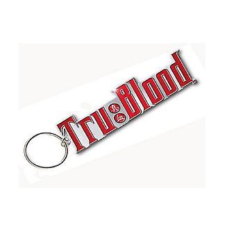 True Blood Keyring Keychain Logo new Official metal