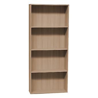Brown Color Ingressini Library in MDF 73x24x170 cm