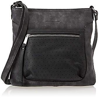 Tom Tailor Acc Jessica Donna Grey shoulder bags (Dark Grey/50)4.5x26x28 cm (B x H x T)