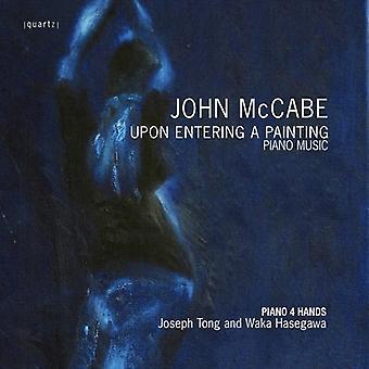 J. McCabe - John McCabe: Upon Entering a Painting [CD] USA import